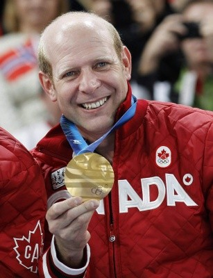 "Kevin Martin is a two-time Olympic medalist skip. He won 18 Grand Slam titles on the World Curling Tour, and a record eight Players' Championship titles. Over the course of his career, his teams won around $2 million. He was the first skip to win a ""career Grand Slam,"" winning a title in each Grand Slam event, after he won the Players' Championship Grand Slam event in April 2005. Martin also holds the record for the most Olympic victories, with 20 total wins at the Olympics."
